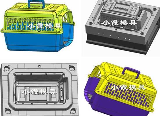 台州注塑模具 动物框注塑模具
