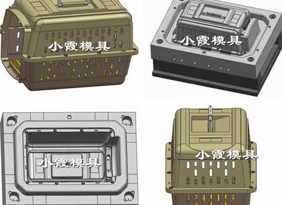 台州塑胶模具供应 宠物箱注塑模具