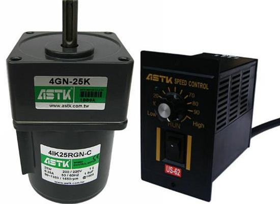 4IK25RGN-C,4GN-3.6K调速电机ASTK马达