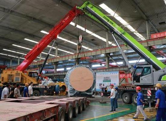 兰高阀为国家重大项目研制的超大型阀门产品顺利发运