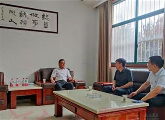 汝州市委常委、统战部长范响立到煜达阀门等民企走访调研
