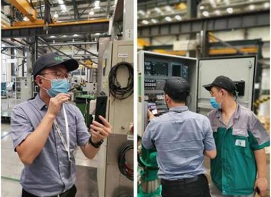 """威乐中国为坦桑尼亚客户提供水泵安装视频""""云验收""""服务"""