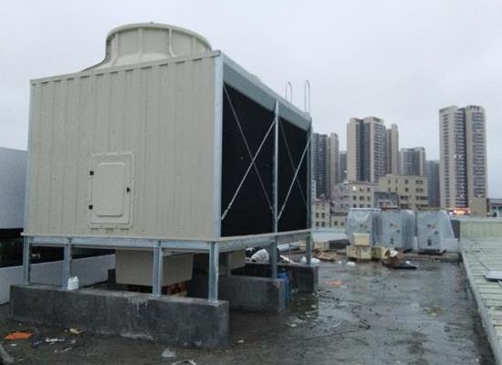 低噪音型橫流式方形冷卻塔廠家及價格