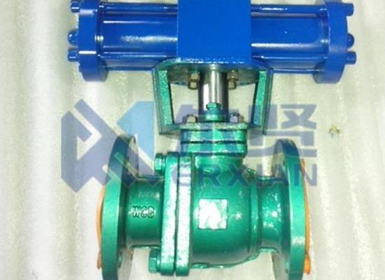 Q741F46-16C液壓襯氟球閥閥門