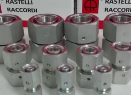 雷斯特利TN498可调式等径直通接头带O型圈卡套式接头