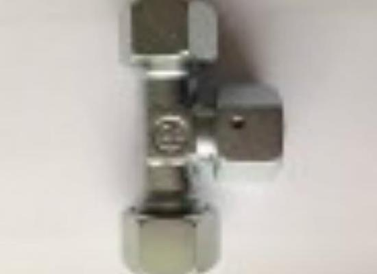 雷斯特利可调式三通接头带O型圈液压接头