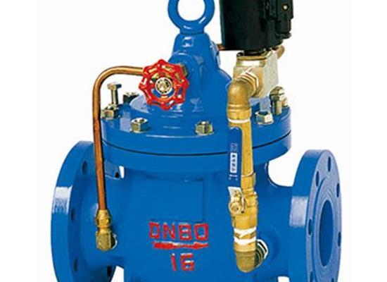 600X-16c  DN125电动水力控制阀