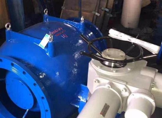 LHS941X-10Q  DN600调流调压阀