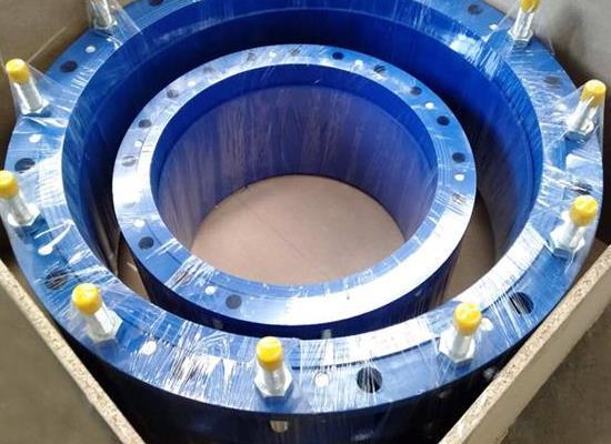 传力接头-双法兰传力接头首选巩义市威力水电设备材料厂