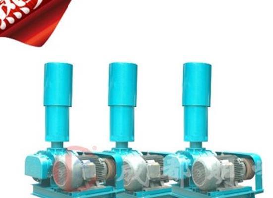 現貨羅茨鼓風機增氧機水產養殖污水處理 三葉羅茨鼓風機質保一年