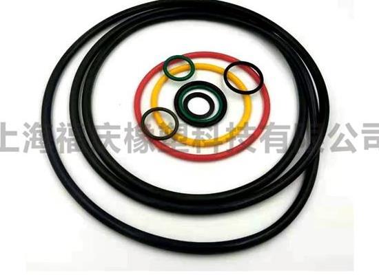 專業定制全氟橡膠O型圈 耐磨耐高溫橡膠密封圈 異型件