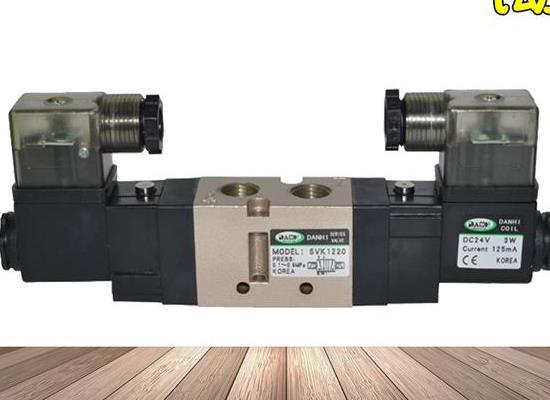 韓國DANHI丹海SVK1220氣動控制閥5通雙線圈換向閥