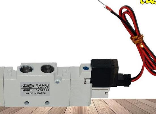 韓國DANHI丹海SVD2120二位五通電磁換向閥SANWO