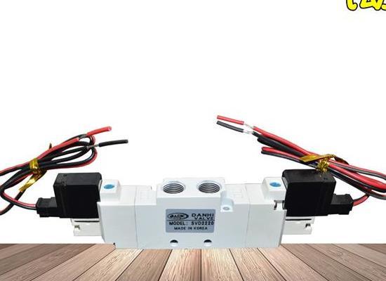 SVD2220二位五通雙電控線圈換向閥韓國2位5通電磁閥