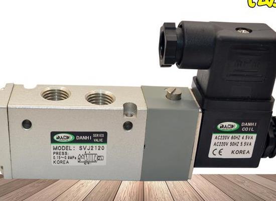 2位5通先導式電磁閥SVJ2120亞德克4V210換向電磁閥
