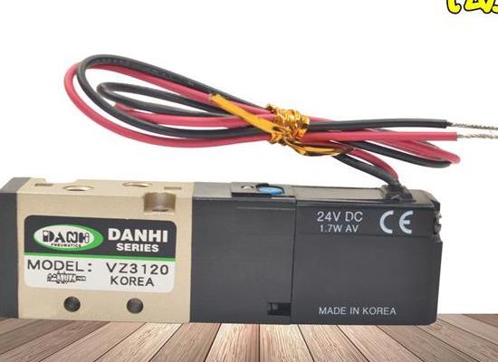 韓國DANHI丹海2位5通VZ3120氣動電磁換向閥三和
