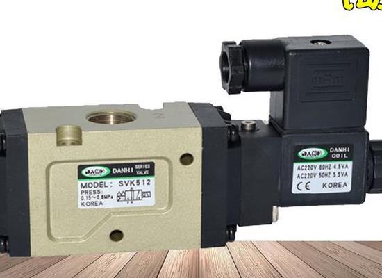 韓國DANHI丹海SVK512兩位三通電磁閥換向閥SANWO