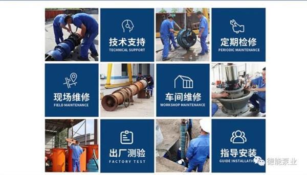 潛水軸流泵安裝及運轉注意事項,天津廠家845946352