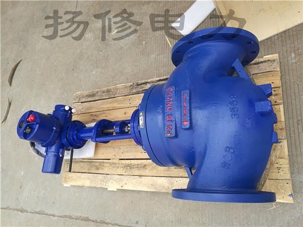 揚州揚修ZDLP單座調節閥(成套)DN25-300規格可選