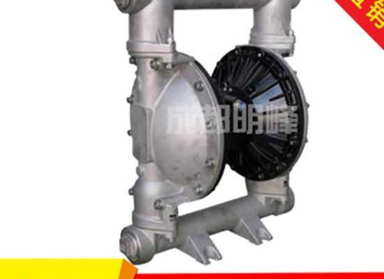 QBY/QBK-40型不銹鋼304/316氣動隔膜泵 氣動隔
