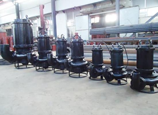 搅拌潜水排泥泵,吸泥泵,抽泥泵,泥灰泵(ZSQ)