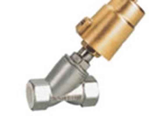 ZPG气动角座阀-电位反馈角座阀-螺纹接口角座阀