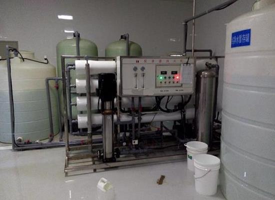 大型工业生产电子用水电镀用水制药用水反渗透纯净水设备