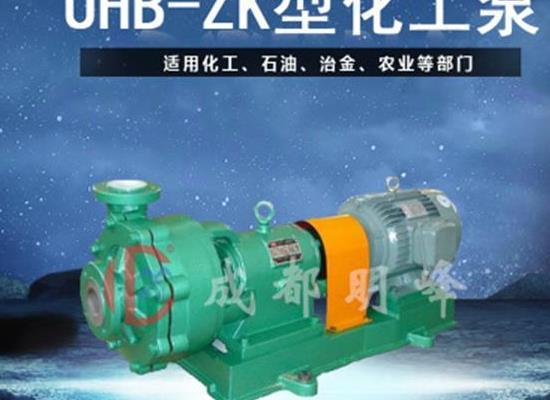 供應UHB砂漿化工離心泵 UHB耐酸堿化工泵 耐腐蝕化工泵