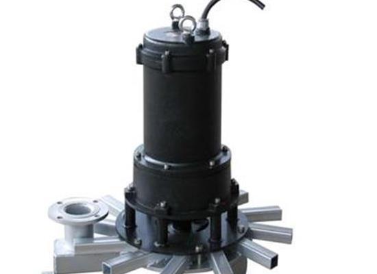5kwQXB潜水离心曝气机 污水潜水式曝气机 污水处理式曝气