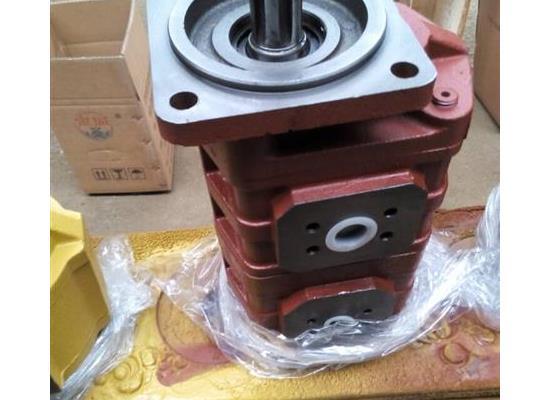 山特扒渣机液压齿轮泵青州液压泵厂制造