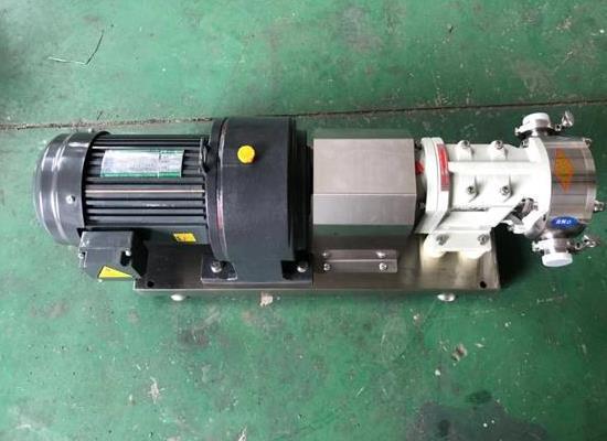 ZB-36不锈钢凸轮转子泵牛油火锅底料泵三叶泵