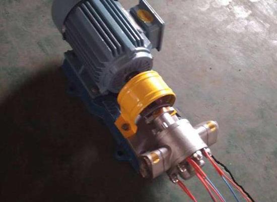 KCB-83.3不锈钢齿轮泵粉条山芋浆泵食用油泵