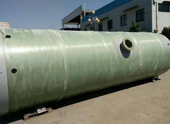 一体化地埋式预制污水提升泵站