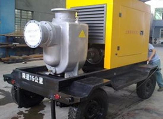 移动式柴油机自吸泵