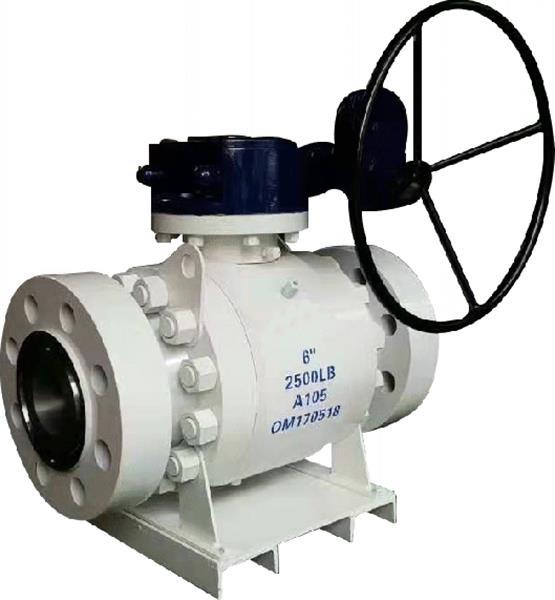 美标涡轮式浮动球阀Q341F-150LB/2500LB