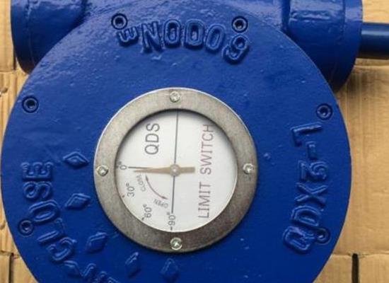 手动涡轮阀门执行器 QDX3-8球阀蜗轮箱