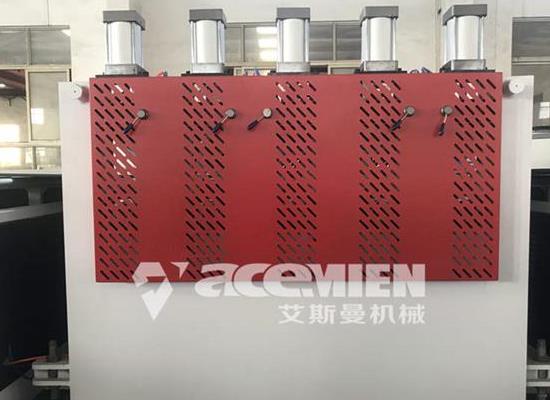塑料建筑模板设备生产线 中空模板设备生产线